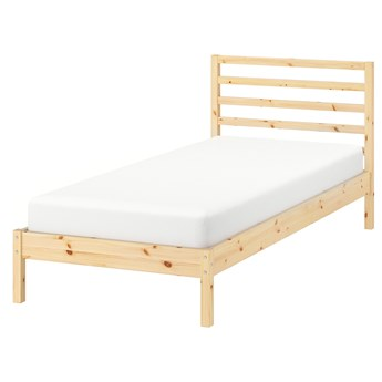 IKEA TARVA Rama łóżka, sosna/Luröy, 90x200 cm