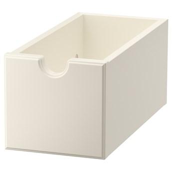 IKEA TORNVIKEN Pudełko, Kremowy, 16x34x15 cm