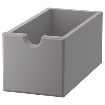 IKEA TORNVIKEN Pudełko, Szary, 16x34x15 cm