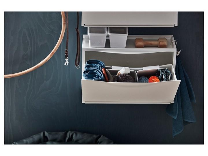 IKEA TRONES Szafka na buty, biały, 52x18x39 cm Tworzywo sztuczne Płyta MDF Pomieszczenie Przedpokój