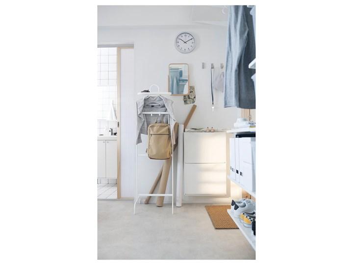 IKEA TRONES Szafka na buty, biały, 52x18x39 cm Płyta MDF Tworzywo sztuczne Pomieszczenie Przedpokój