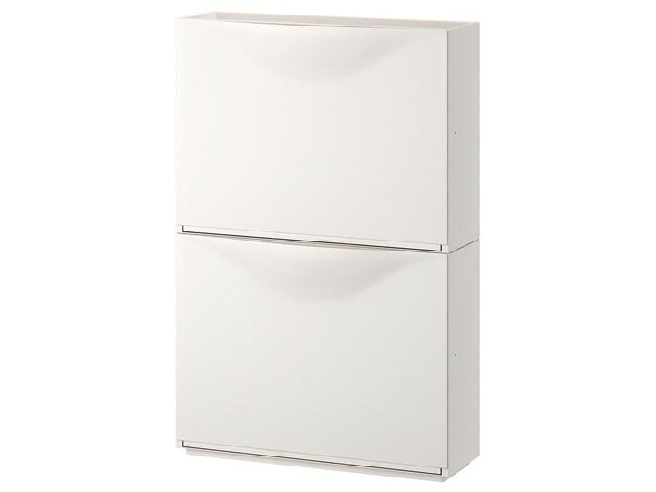 IKEA TRONES Szafka na buty, biały, 52x18x39 cm