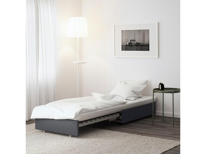 IKEA VALLENTUNA Moduł sofy rozkładanej, Hillared ciemnoszary, Długość łóżka: 200 cm Modułowe Kategoria Sofy i kanapy Głębokość 100 cm Funkcje Z funkcją spania
