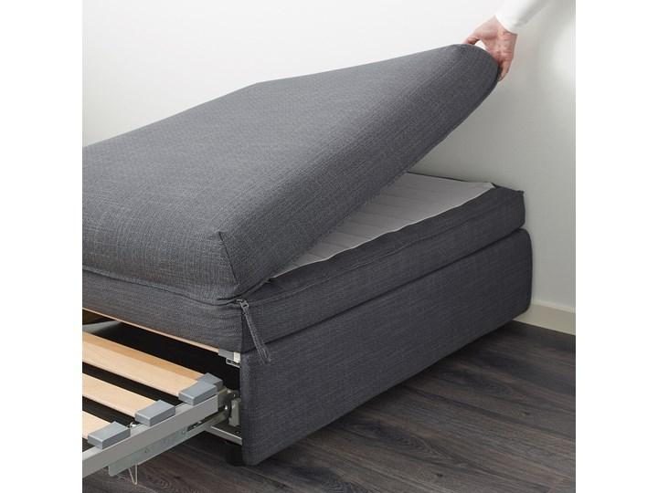 IKEA VALLENTUNA Moduł sofy rozkładanej, Hillared ciemnoszary, Długość łóżka: 200 cm Modułowe Głębokość 100 cm Pomieszczenie Salon Nóżki Bez nóżek