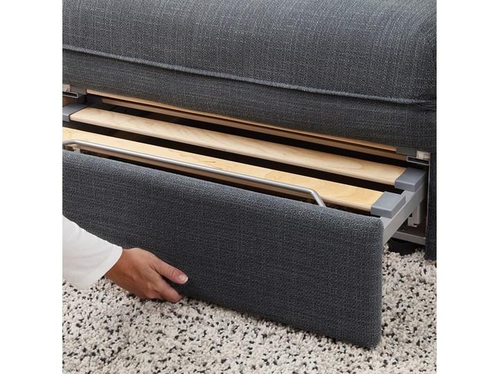 IKEA VALLENTUNA Moduł sofy rozkładanej, Hillared ciemnoszary, Długość łóżka: 200 cm Głębokość 100 cm Modułowe Kategoria Sofy i kanapy