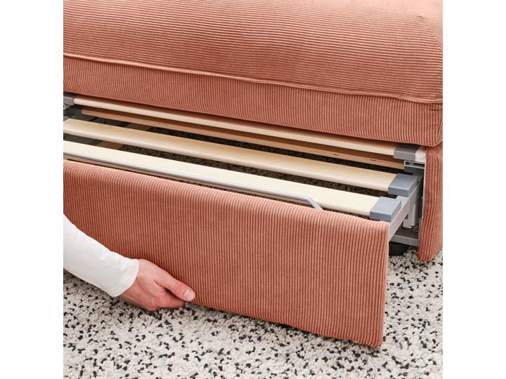 IKEA VALLENTUNA Moduł sofy rozkładanej, Kelinge rdzawy, Szerokość: 80 cm Nóżki Bez nóżek Głębokość 100 cm Modułowe Typ Gładkie