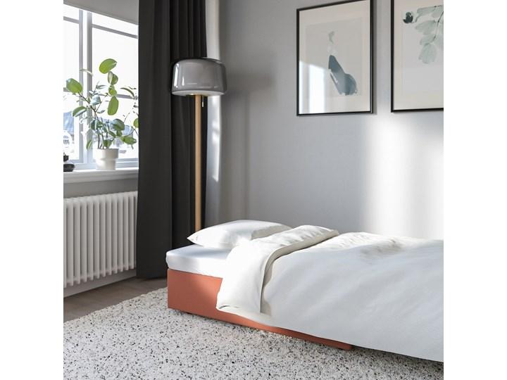 IKEA VALLENTUNA Moduł sofy rozkładanej, Kelinge rdzawy, Szerokość: 80 cm Modułowe Głębokość 100 cm Rozkładanie Rozkładana Powierzchnia spania 80x200 cm