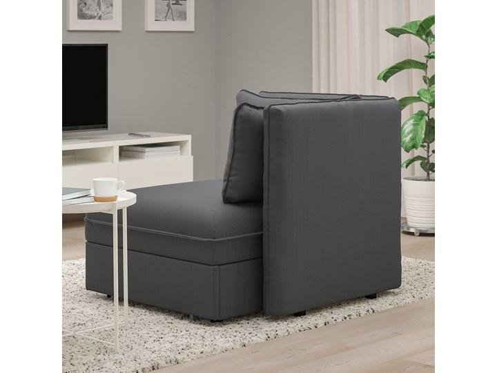 IKEA VALLENTUNA Moduł sofy rozkładanej z oparciem, Kelinge antracyt, Szerokość: 113 cm Modułowe Funkcje Z funkcją spania Rozkładanie Rozkładana