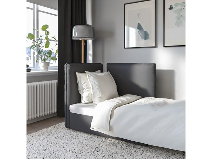 IKEA VALLENTUNA Moduł sofy rozkładanej z oparciem, Kelinge antracyt, Szerokość: 113 cm Modułowe Funkcje Z funkcją spania
