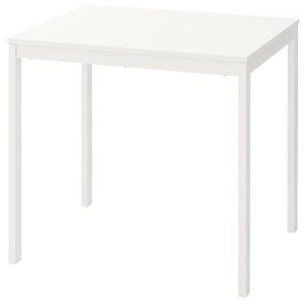 IKEA VANGSTA Stół rozkładany, Biały, 80/120x70 cm