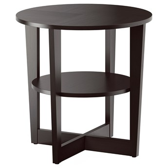 IKEA VEJMON Stolik, czarnobrąz, 60 cm