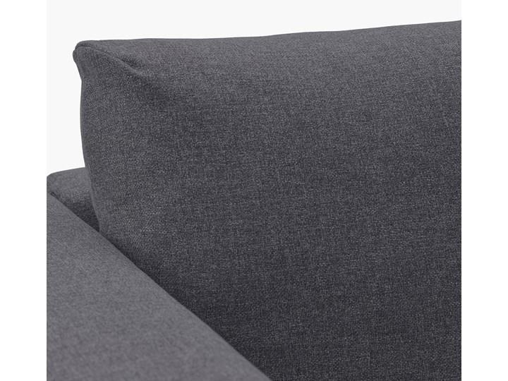 IKEA VIMLE Sofa 3-osobowa, z szezlongiem/Gunnared średnioszary, Wysokość z poduchami oparcia: 83 cm Prawostronne Rozkładanie Nóżki Bez nóżek