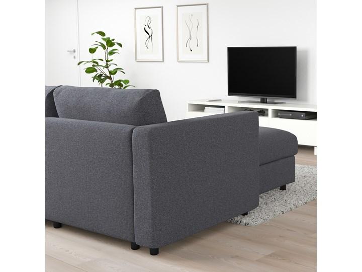 IKEA VIMLE Sofa 3-osobowa, z szezlongiem/Gunnared średnioszary, Wysokość z poduchami oparcia: 83 cm Kategoria Narożniki Prawostronne Liczba miejsc Trzyosobowy