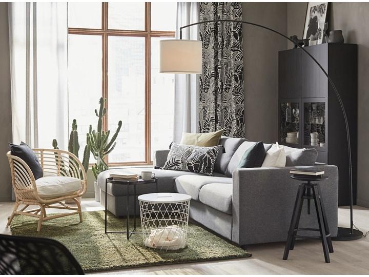 IKEA VIMLE Sofa 3-osobowa, z szezlongiem/Gunnared średnioszary, Wysokość z poduchami oparcia: 83 cm Prawostronne Liczba miejsc Trzyosobowy Nóżki Bez nóżek