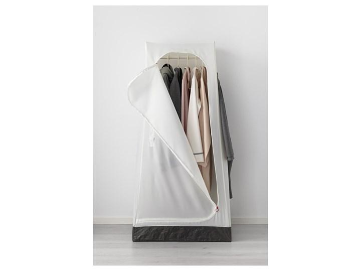 IKEA VUKU Szafa, biały, 74x51x149 cm Kategoria Szafy do garderoby Tworzywo sztuczne Tkanina Pomieszczenie Garderoba