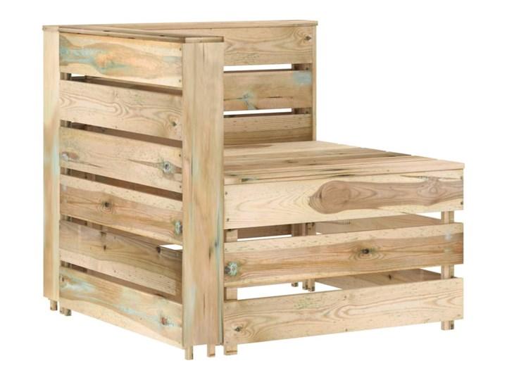 vidaXL 5-cz. zestaw wypoczynkowy do ogrodu, impregnowana sosna Zestawy wypoczynkowe Zestawy modułowe Styl Rustykalny Kategoria Zestawy mebli ogrodowych
