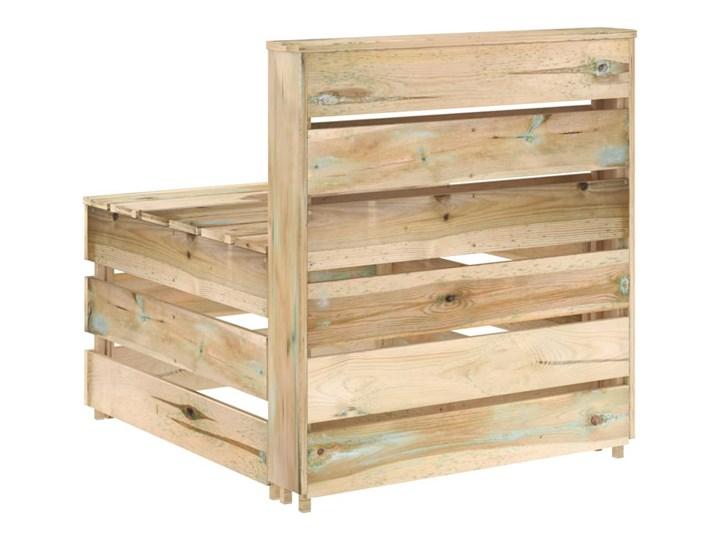 vidaXL 8-cz. zestaw wypoczynkowy do ogrodu, impregnowana sosna Zestawy modułowe Styl Rustykalny Zestawy wypoczynkowe Kategoria Zestawy mebli ogrodowych