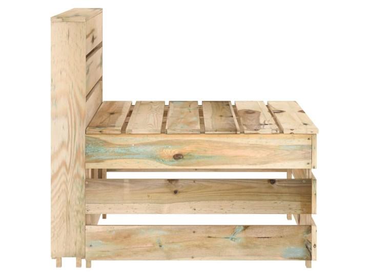 vidaXL 8-cz. zestaw wypoczynkowy do ogrodu, impregnowana sosna Zestawy wypoczynkowe Styl Rustykalny Zestawy modułowe Kategoria Zestawy mebli ogrodowych
