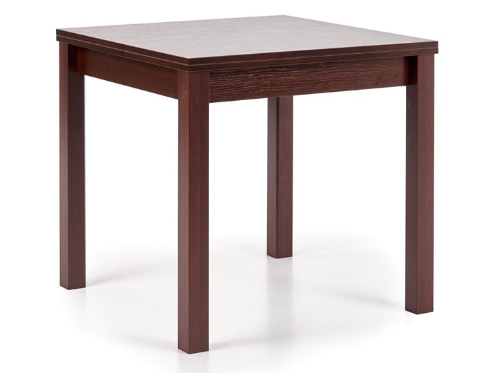 Rozkładany stół minimalistyczny do jadalni Ciemny Brąz ALACENA Rozkładanie