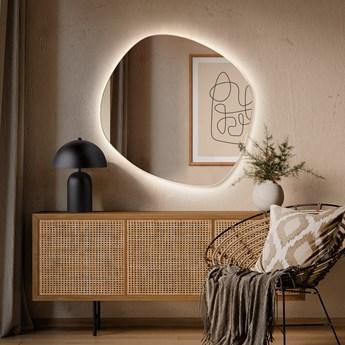 Lustro Roco Wide LED – nieregularne