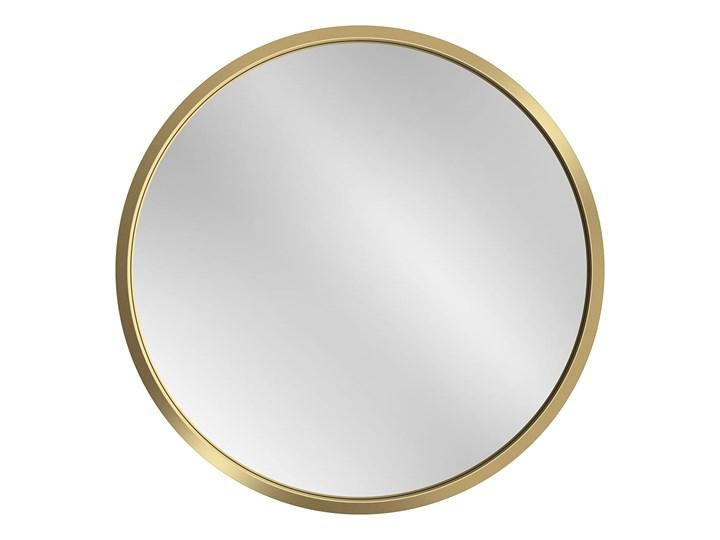 Lustro Scandi — złote podświetlane