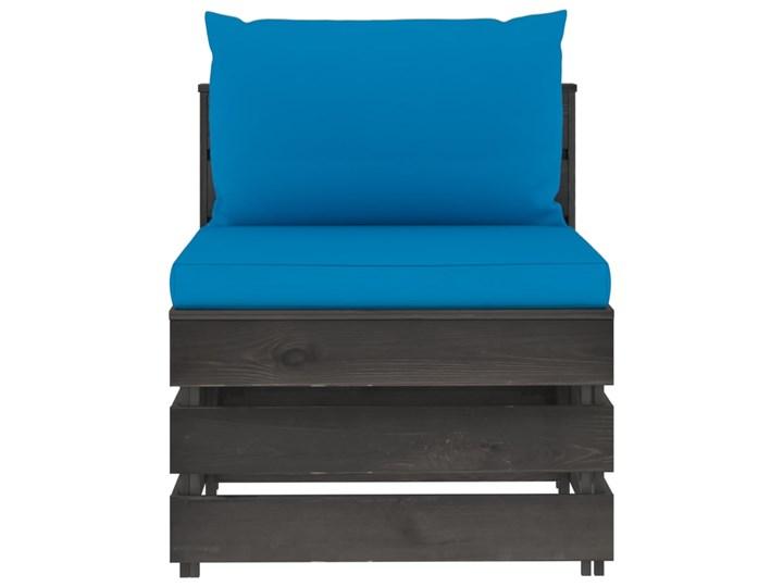 vidaXL 5-cz. zestaw wypoczynkowy do ogrodu, z poduszkami, drewniany Zestawy wypoczynkowe Zestawy modułowe Drewno Styl Rustykalny Kategoria Zestawy mebli ogrodowych