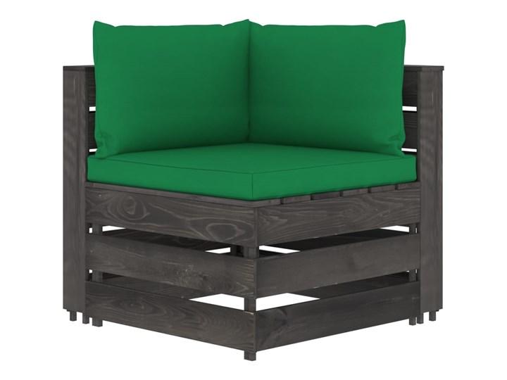 vidaXL 5-cz. zestaw wypoczynkowy do ogrodu, z poduszkami, drewniany Styl Rustykalny Drewno Zestawy wypoczynkowe Zestawy modułowe Kategoria Zestawy mebli ogrodowych