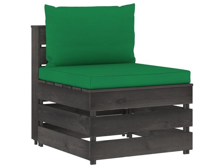 vidaXL 5-cz. zestaw wypoczynkowy do ogrodu, z poduszkami, drewniany Zestawy modułowe Zestawy wypoczynkowe Drewno Styl Rustykalny Kategoria Zestawy mebli ogrodowych
