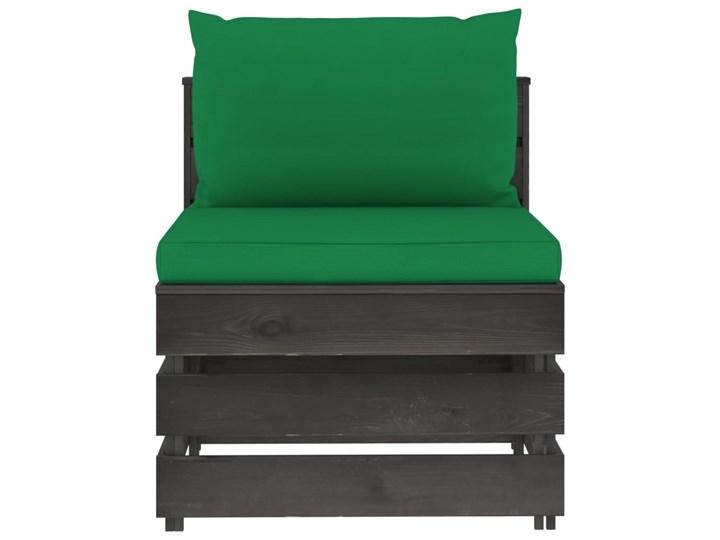 vidaXL 5-cz. zestaw wypoczynkowy do ogrodu, z poduszkami, drewniany Styl Rustykalny Zestawy modułowe Zestawy wypoczynkowe Drewno Kategoria Zestawy mebli ogrodowych