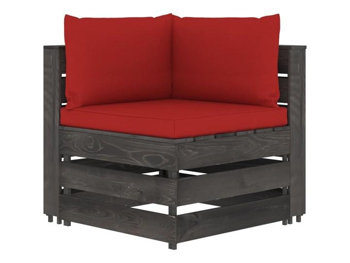 vidaXL 5-cz. zestaw wypoczynkowy do ogrodu, z poduszkami, drewniany Zestawy modułowe Drewno Styl Rustykalny Zestawy wypoczynkowe Kategoria Zestawy mebli ogrodowych