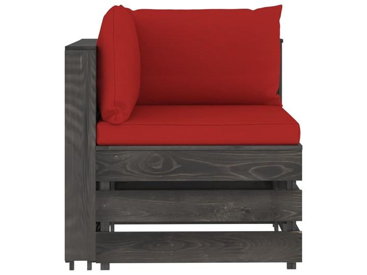 vidaXL 5-cz. zestaw wypoczynkowy do ogrodu, z poduszkami, drewniany Styl Rustykalny Zestawy wypoczynkowe Zestawy modułowe Drewno Kategoria Zestawy mebli ogrodowych