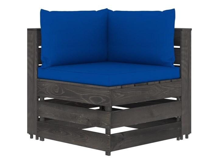 vidaXL 5-cz. zestaw wypoczynkowy do ogrodu, z poduszkami, drewniany Zestawy wypoczynkowe Styl Rustykalny Zestawy modułowe Drewno Kategoria Zestawy mebli ogrodowych