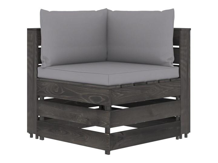 vidaXL 6-cz. zestaw wypoczynkowy do ogrodu, z poduszkami, drewniany Zestawy wypoczynkowe Drewno Zestawy modułowe Styl Rustykalny Kategoria Zestawy mebli ogrodowych