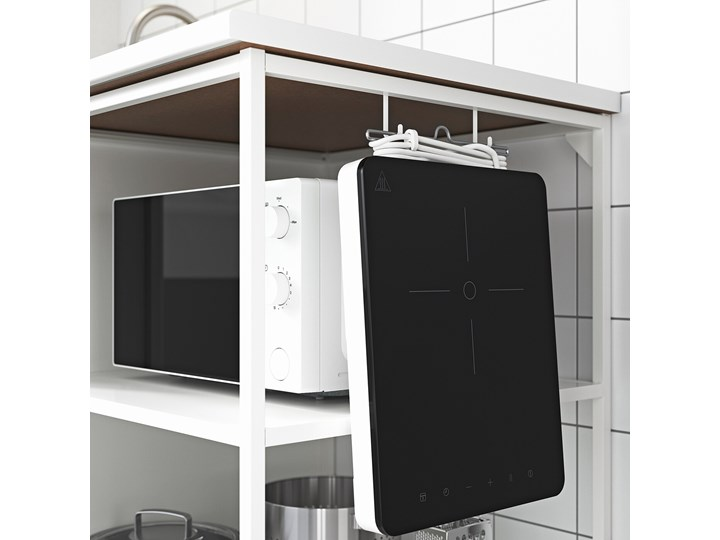IKEA ENHET Szafka stojąca z półkami, biały, 60x60x75 cm Szafka dolna Kategoria Szafki kuchenne