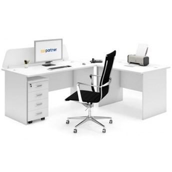 Zestaw mebli biurowych MIRELLI A+, typ E, biały