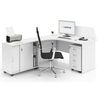 Zestaw mebli biurowych MIRELLI A+, typ F, biały