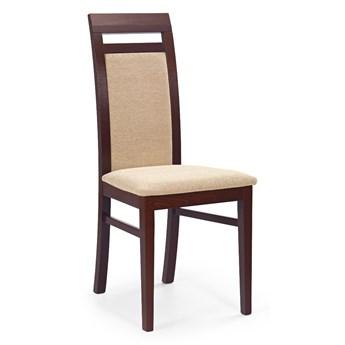 Krzesło ALBERT ciemny orzech HALMAR