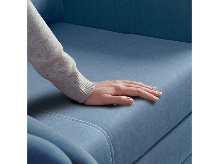 IKEA ASKEBY Sofa 2-osobowa rozkładana, Knisa średnioniebieski, Szerokość: 149 cm Typ Gładkie