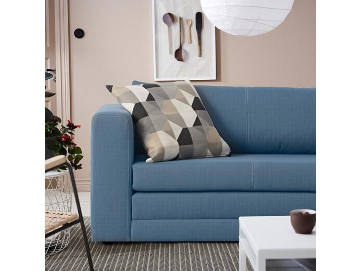 IKEA ASKEBY Sofa 2-osobowa rozkładana, Knisa średnioniebieski, Szerokość: 149 cm Typ Gładkie Pomieszczenie Pokój przedszkolaka