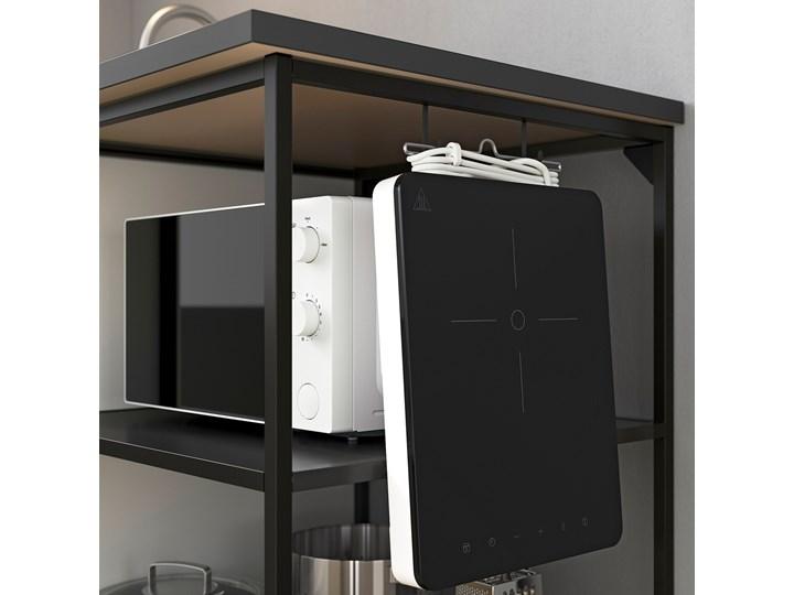 IKEA ENHET Szafka stojąca z półkami, antracyt, 40x60x75 cm Kategoria Szafki kuchenne Szafka dolna Kolor Czarny