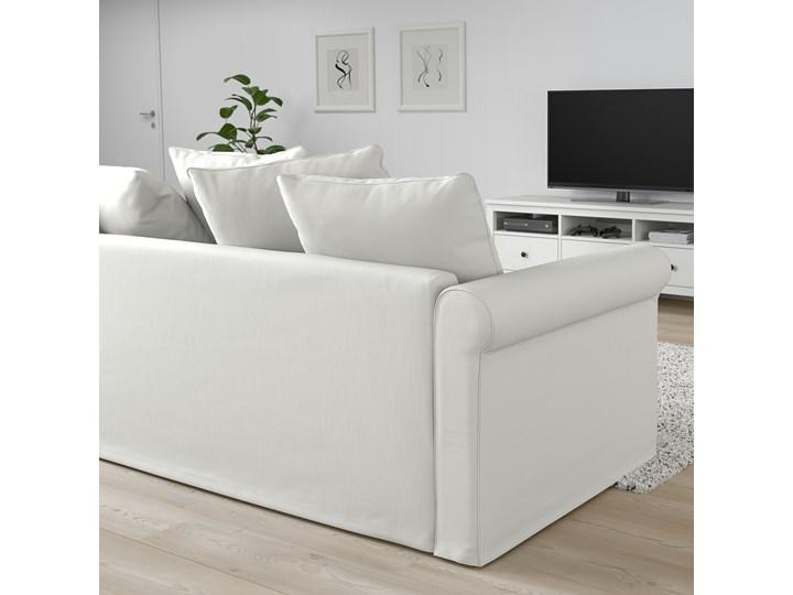 IKEA GRÖNLID Sofa 2-osobowa, Inseros biały, Wysokość z poduchami oparcia: 104 cm Materiał obicia Tkanina Typ Gładkie