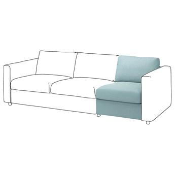 IKEA VIMLE Sekcja 1-osobowa, Saxemara jasnoniebieski, Głębokość: 98 cm
