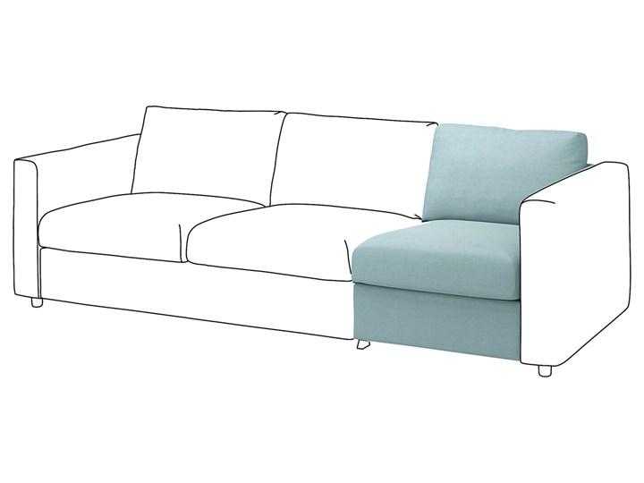 IKEA VIMLE Sekcja 1-osobowa, Saxemara jasnoniebieski, Głębokość: 98 cm Wielkość Jednoosobowa
