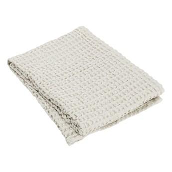 Jasnobeżowy bawełniany ręcznik Blomus Moonbeam, 100x50 cm