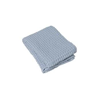 Jasnoniebieski bawełniany ręcznik Blomus Ashley, 100x50 cm