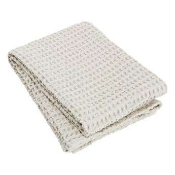 Beżowa bawełniany ręcznik kąpielowy Blomus Moonbeam, 140x70 cm
