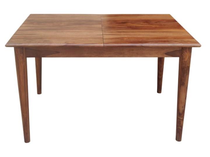 Stół rozkładany MARIAN - 120x80 cm (Karmel) Kamień Drewno Długość 120 cm  Styl Vintage