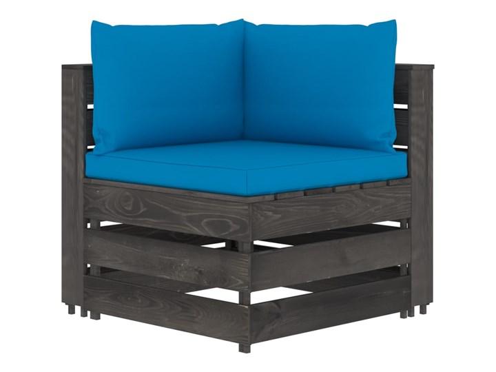 vidaXL 5-cz. zestaw wypoczynkowy do ogrodu, z poduszkami, drewniany Drewno Zestawy wypoczynkowe Zestawy modułowe Styl Rustykalny Kategoria Zestawy mebli ogrodowych