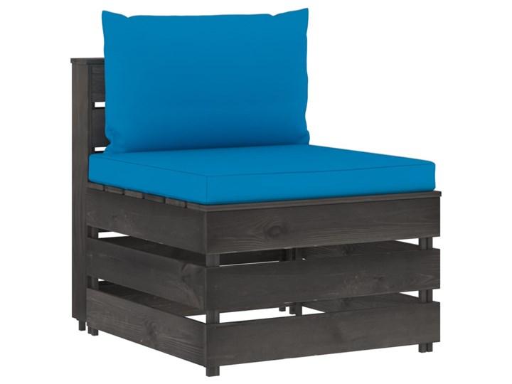 vidaXL 5-cz. zestaw wypoczynkowy do ogrodu, z poduszkami, drewniany Drewno Zestawy modułowe Zestawy wypoczynkowe Styl Rustykalny Kategoria Zestawy mebli ogrodowych