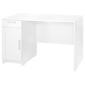 IKEA BRIMNES Biurko, biały, 120x65 cm